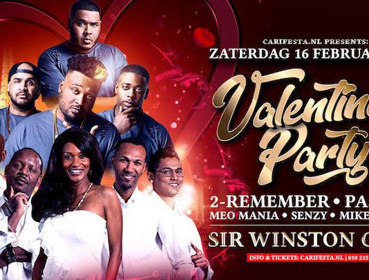 Caribbean Valentine's Party op zaterdag 16 februari in Rijswijk