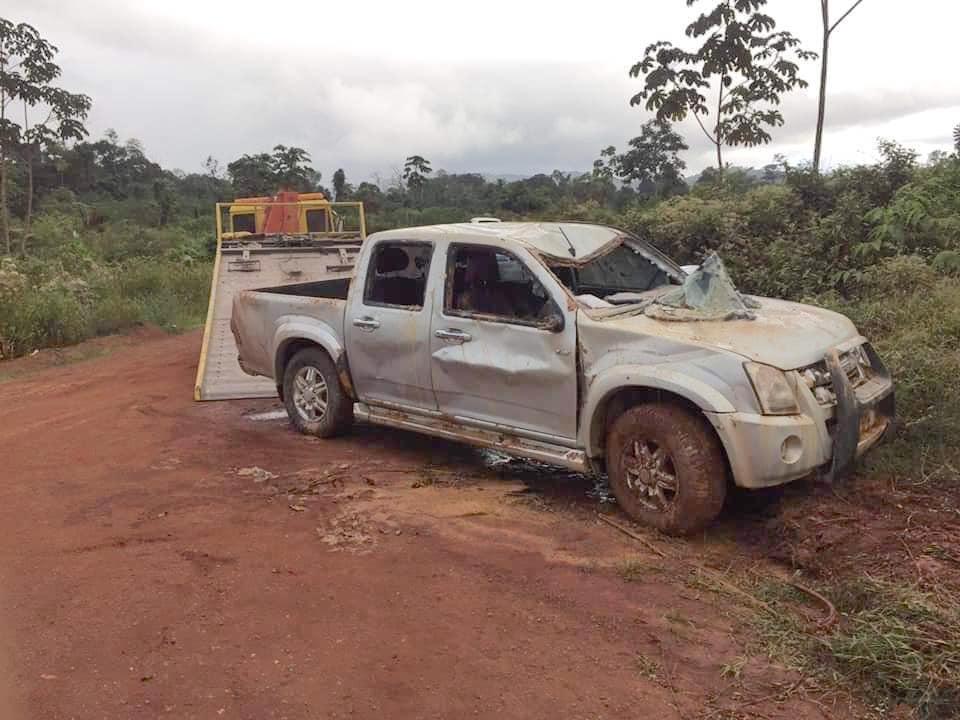 Dagblad Suriname: 'Vermoedelijk drie doden op weg naar Atjoni'