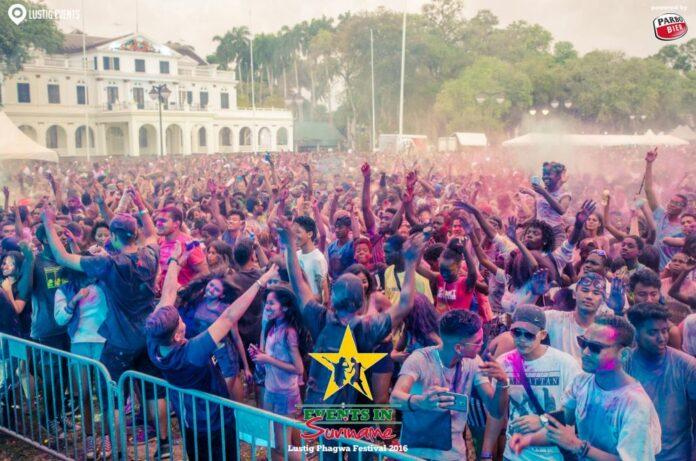 Lustig Phagwa Festival in Suriname dit jaar groter en op nieuwe locatie