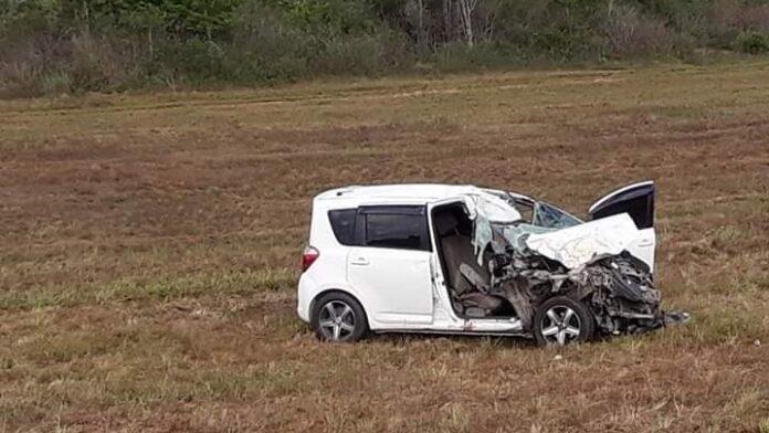 Overleden jongeman (22) Afobakaweg Suriname viel in slaap en kwam op weghelft truck terecht