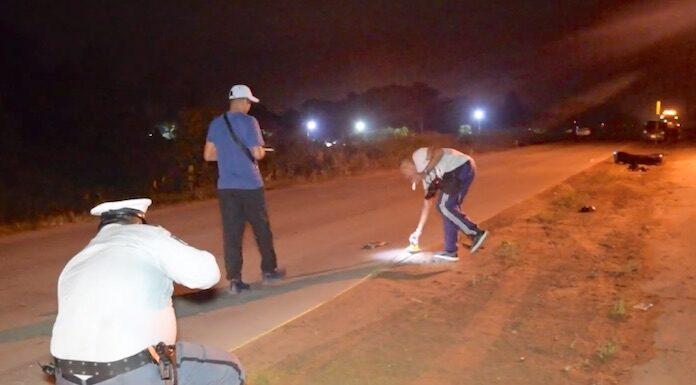 VIDEO: 20-jarige inzittende is 7e verkeersslachtoffer van 2019 in Suriname
