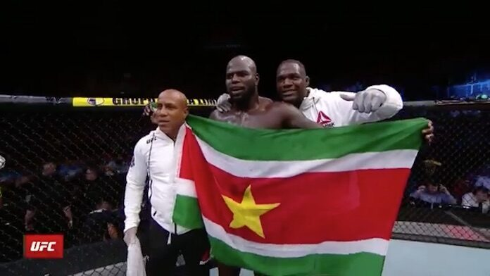 VIDEO: Jairzinho 'Bigi Boi' Rozenstruik wint voor Suriname in Brazilië