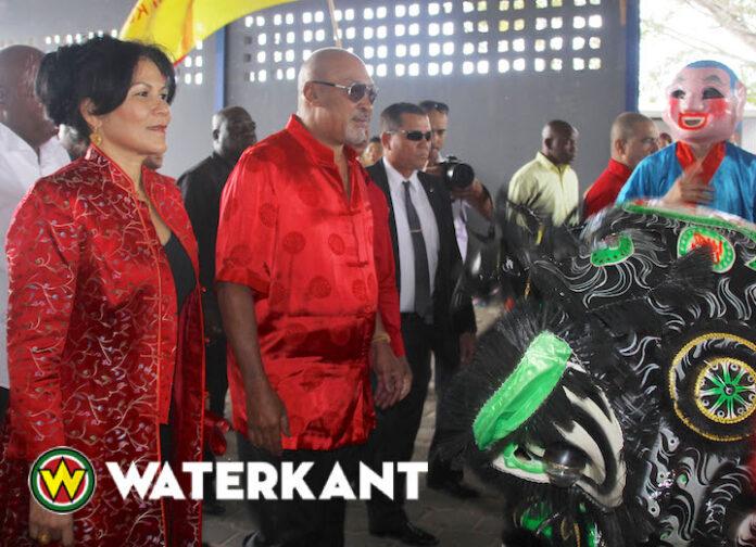 'Dankzij Bouterse is Chinees Nieuwjaar nationale feestdag in Suriname'