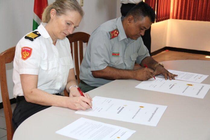 Samenwerking Korps Brandweer Suriname met Brandweer Haaglanden