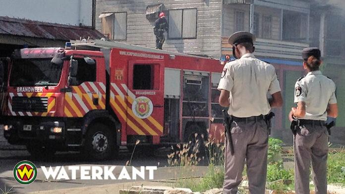 Verkoold lijk van vrouw aangetroffen bij woningbrand in Suriname