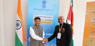 Dodson participeert namens Suriname aan Petrotech 2019 conferentie in India