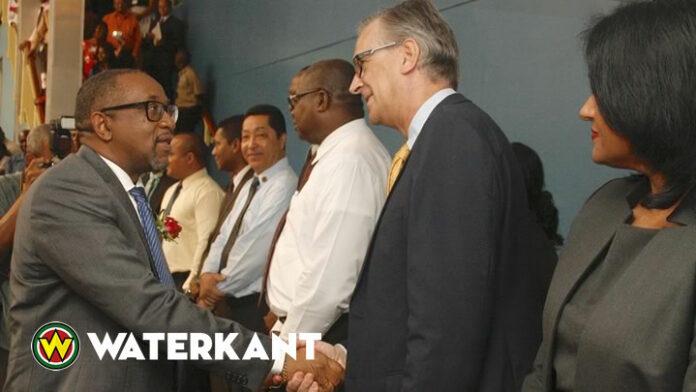 Glenn Gersie weg als governor van de Centrale Bank van Suriname
