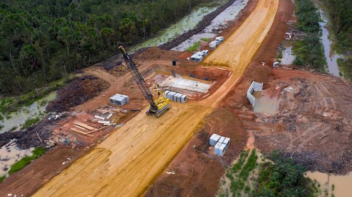Resultado de imagen para Vanaf eind 2020 sneller naar luchthaven Suriname via nieuwe Highway