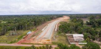 'Vanaf eind 2020 sneller naar luchthaven Suriname via nieuwe Highway'