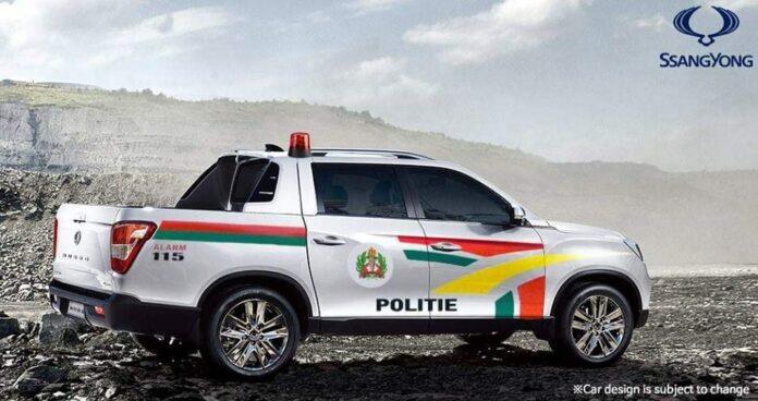 Wordt dit de nieuwe patrouillewagen van politie in Suriname?
