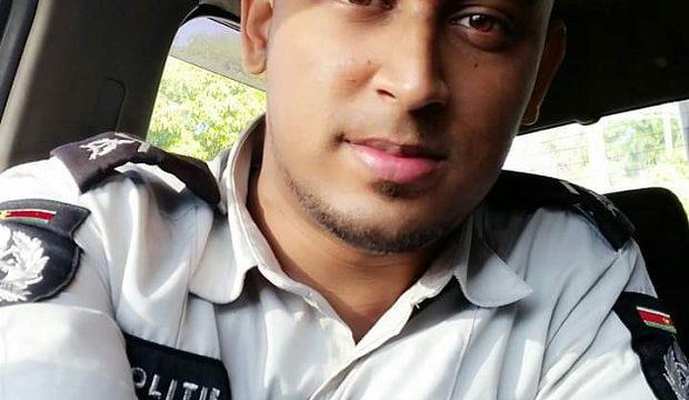 Politieagent die in coma lag overleden na aanrijding in Suriname