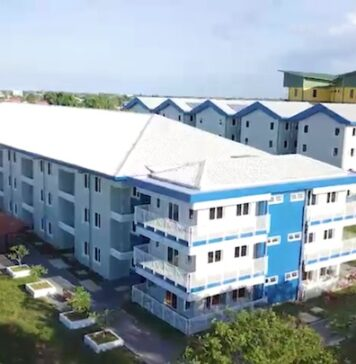 Opening Student Housing Campus Village in Suriname