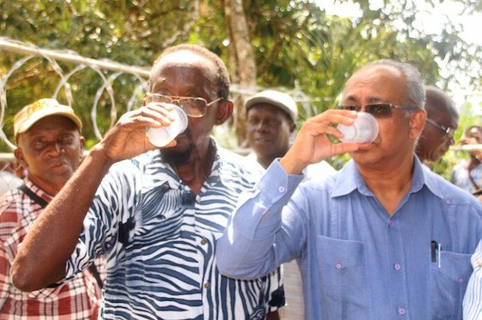 Veilig drinkwater voor bewoners dorp Langatabiki in Suriname