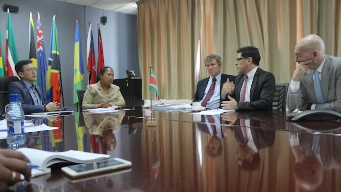 WTO delegatie bezoekt Suriname in verband met Trade Policy Review