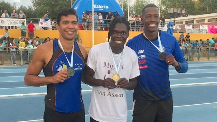 Miguel van Assen wint goud voor Suriname in Argentinië