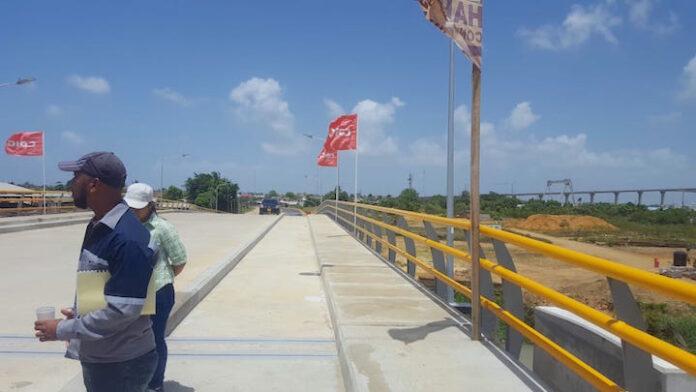 Officiële ingebruikname Beekhuizen brug in Suriname eind maart 2019
