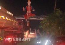 Verslagenheid bij Hindoes in Suriname na brand Bedevaartsoord Weg naar Zee