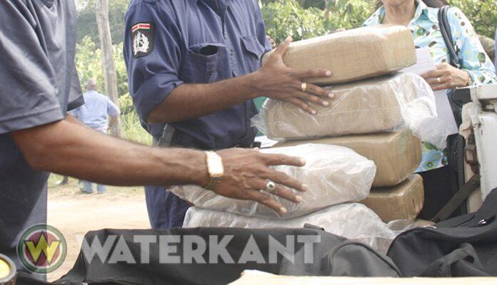 Grote drugsvangst vanmiddag in Nickerie