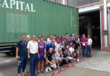 Vriendengroep 'Himmat' stuurt voor de 15e keer container naar Suriname