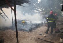 Onverzekerde woning in Suriname compleet door brand verwoest