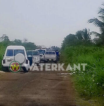 Lijk met schotverwonding in Paramaribo-Noord aangetroffen door politie in Suriname