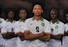 Suriname wint met 2-0 van St. Kitts and Nevis