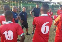 Suriname wint met 3-1 tegen Guyana tijdens oefeninterland in Nickerie