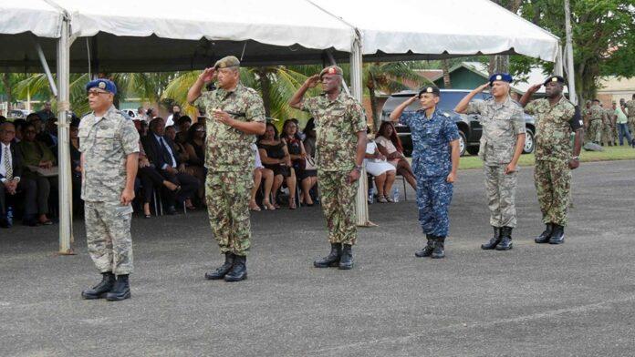 Nieuwe leiding Nationaal Leger Suriname geïnstalleerd