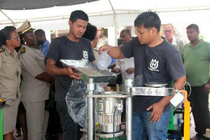 'Productie exotische oliën in Suriname biedt goede perspectieven'