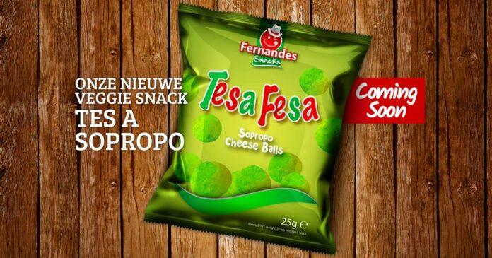 Fernandes Suriname komt een paar dagen voor 1 april met 'Sopropo Cheese Balls'