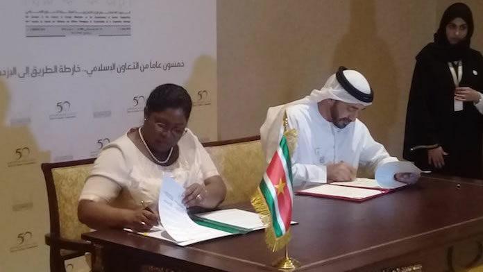 Suriname neemt deel aan ministerraad in Abu Dhabi