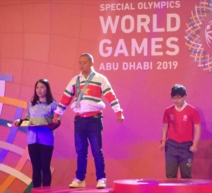 Drie maal goud voor Suriname op Special Olympics in Abu Dhabi