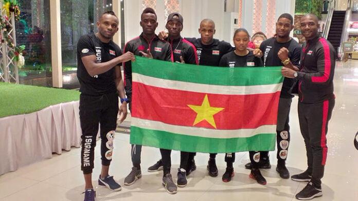 Thaiboksers uit Suriname in Thailand voor wereldkampioenschappen Muy Thai