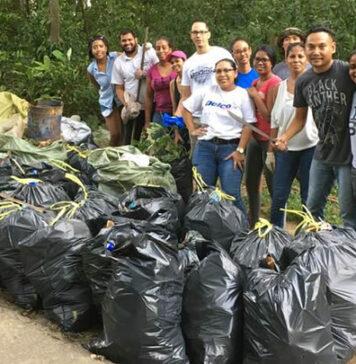 De 'Trashtag challenge' heeft ook Suriname bereikt