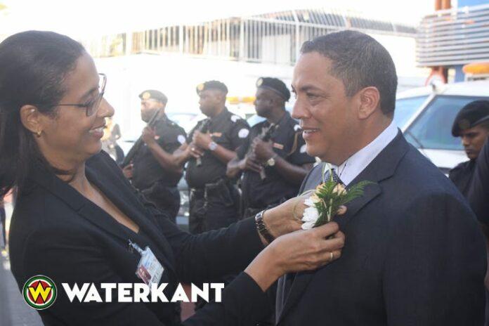 Van Trikt aan de slag als governor van de Centrale Bank van Suriname