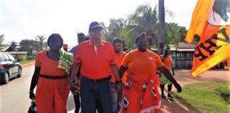 Succesvolle ressort bijeenkomst VHP Suriname in Brokopondo