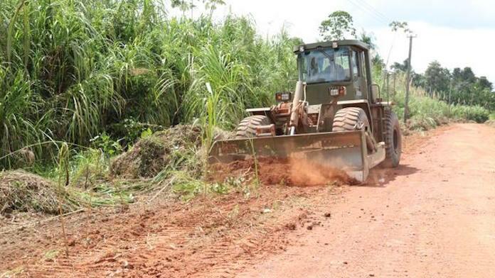 Drie ministeries in Suriname pakken wegen Marowijne gezamenlijk aan