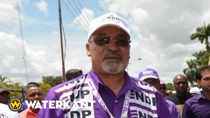 Opnieuw prominente NDP'er in Suriname overgestapt naar de VHP