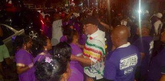 President van Suriname loopt mee op laatste dag AVD