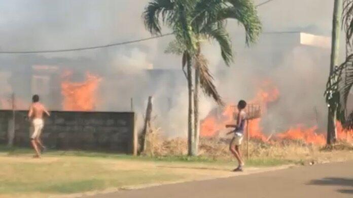 VIDEO: Korps Brandweer Suriname waarschuwt voor droogte en vuur