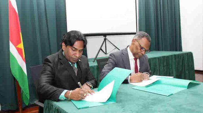 Hof van Justitie in Suriname neemt eigen website officieel in gebruik