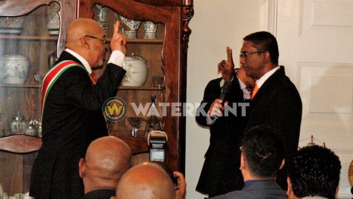 Minister van Landbouw in Suriname dient ontslag bij president in