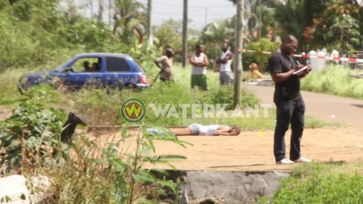 Inbreker niet doodgeschoten door politie Suriname maar door bewoner