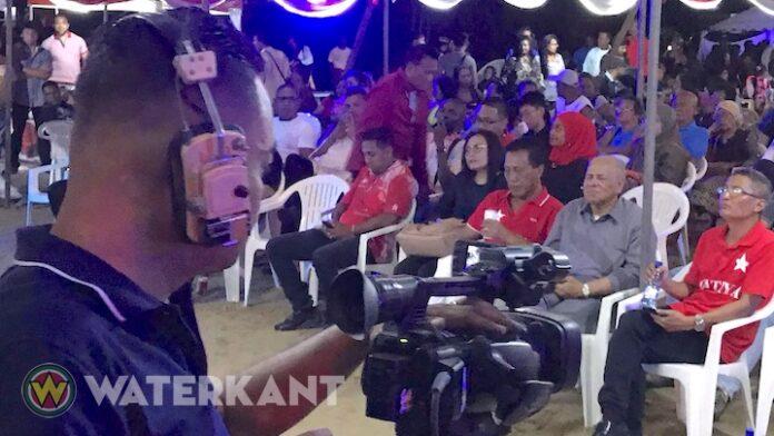 Pertjaja Luhur start verkiezingscampagne; Somohardjo in rijstdistrict Suriname