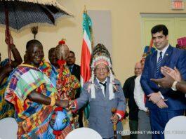 Vice-president van Suriname vandaag voor 5 dagen naar Ghana