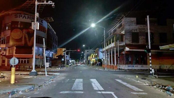 Organisatie AVD weigert te betalen voor schoonmaken na wandelmars Suriname