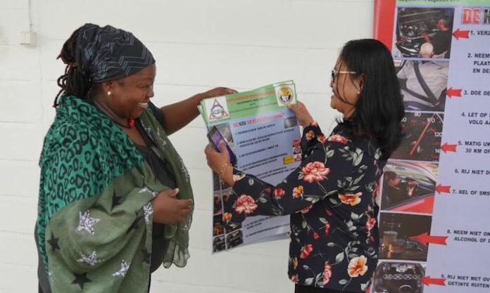 Extra aandacht voor verkeersveiligheid in Suriname tijdens Road Safety Week