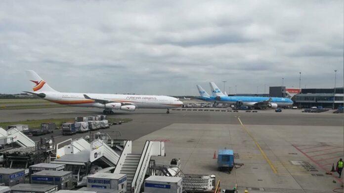 SLM Airbus terug naar Paramaribo