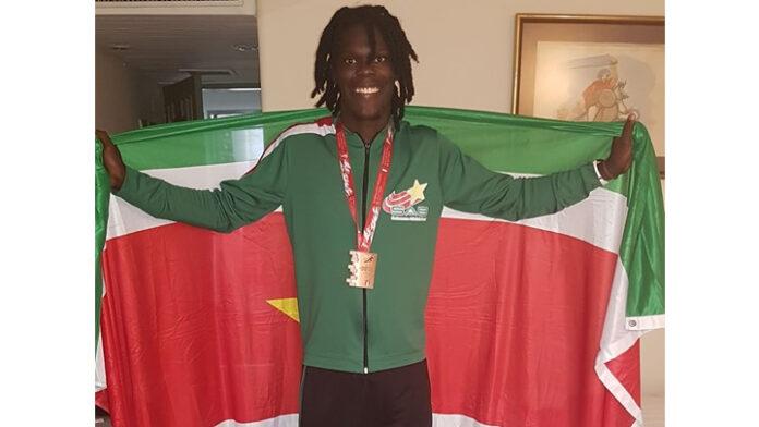 VIDEO: Van Assen wint weer medaille voor Suriname in Lima