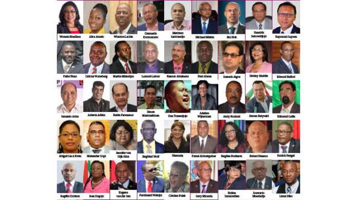 Dagblad Suriname: 'Regering Bouterse heeft reeds 47 ministers versleten'